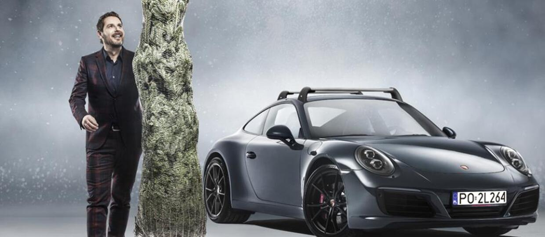 Modest Amaro dostał pod choinkę Porsche 911