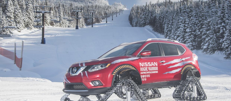 Nissan z napędem gąsienicowym