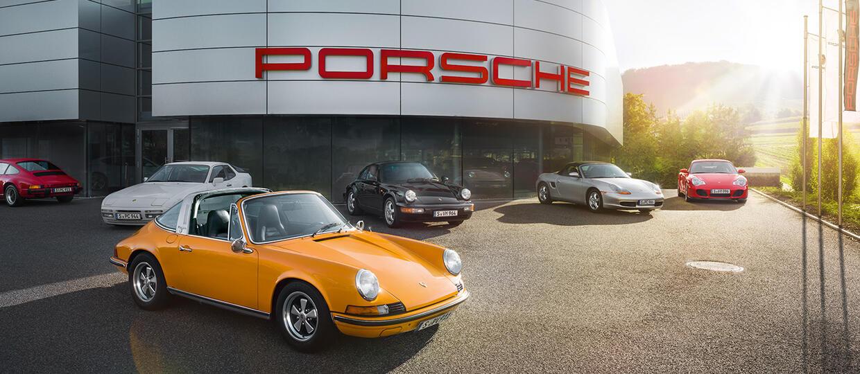 Otwarcie salonu z klasykami Porsche w Holandii