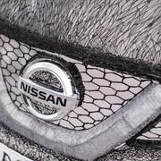 Pełnowymiarowy Qashqai narysowany długopisem 3D