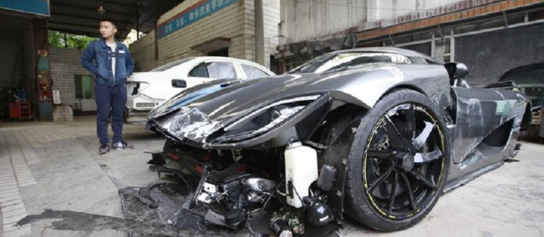 Pijany kierowca rozbił auto za 4 mln euro!