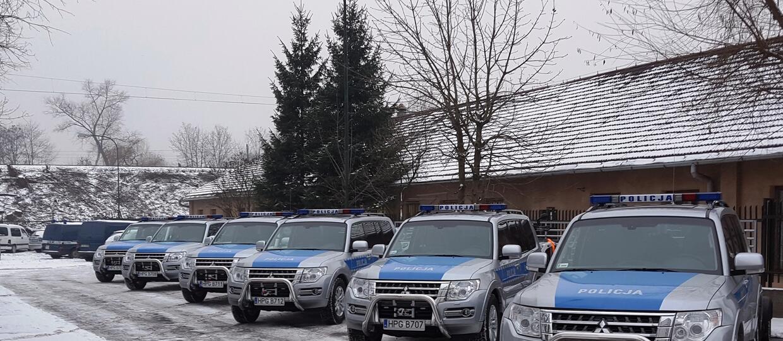 Policja kupiła 6 egzemplarzy Mitsubishi Pajero