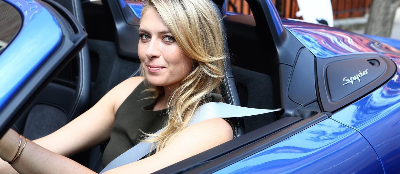 Porsche zawiesiło współpracę z Marią Sharapovą