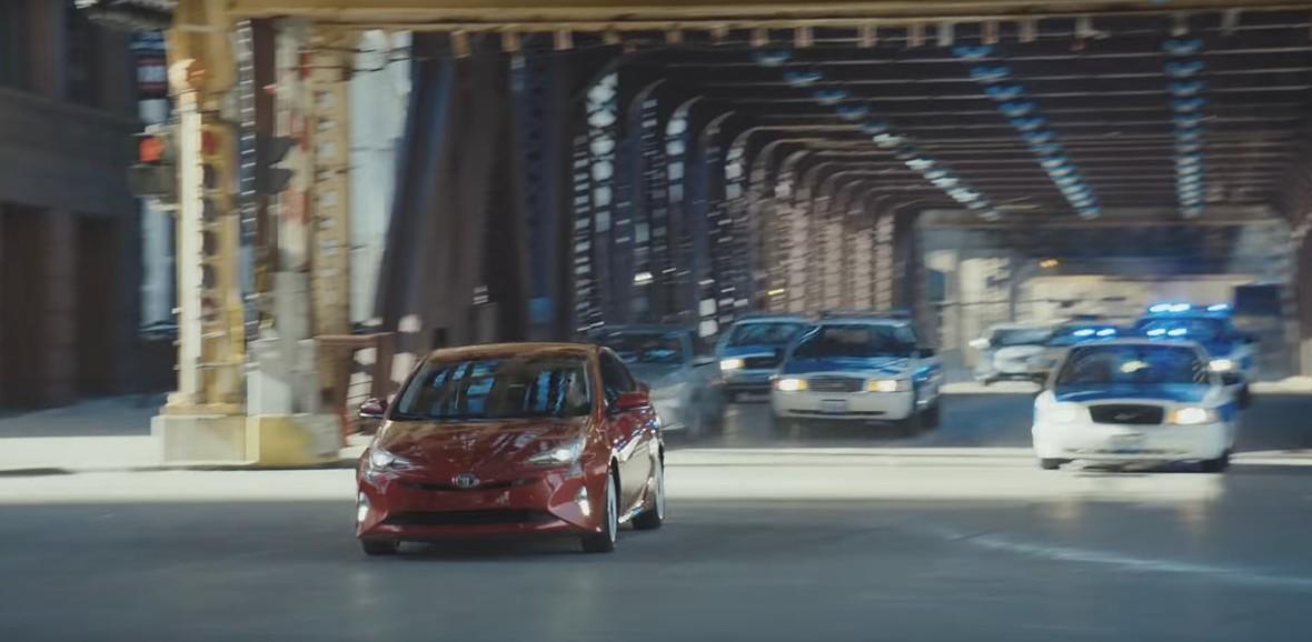 Prius najlepszym autem do ucieczki przed policją?
