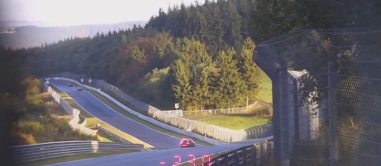 Radarem mierzył prędkość aut na Nurburgringu
