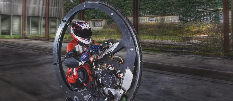 Rekord Guinnessa dla najszybszego motocykla jednokołowego