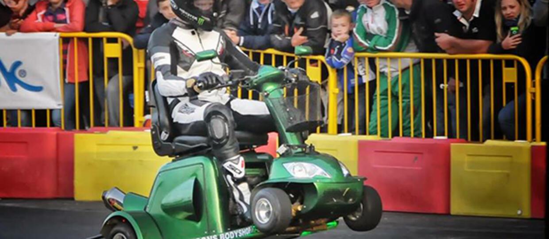 Rekord Guinnessa – skuter inwalidzki pomknął 173 km/h