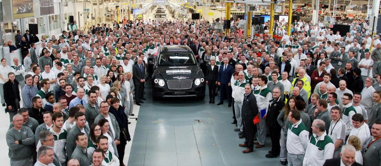 Ruszyła produkcja Bentleya Bentayga