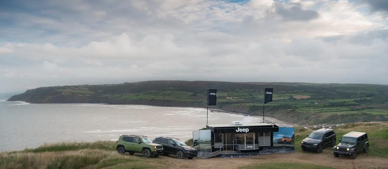 Salon Jeepa dostępny tylko dla aut terenowych