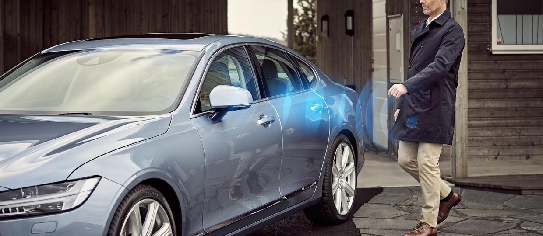Smarfton substytutem kluczyka w Volvo?