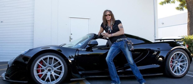 Steven Tyler sprzedaje Hennesseya Venoma GT Spyder