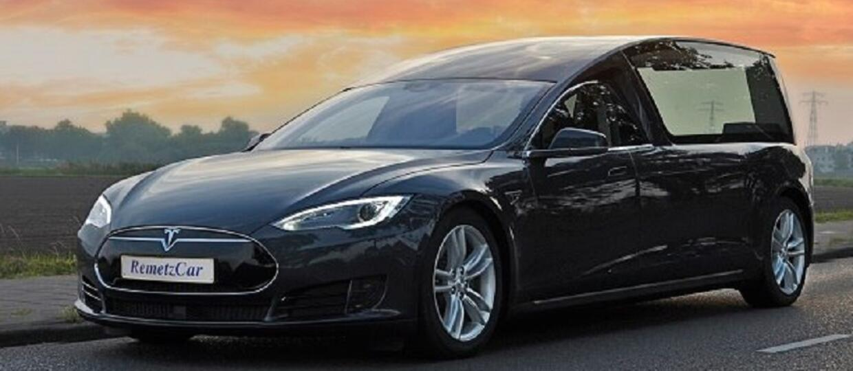 Tesla Model S jako karawan