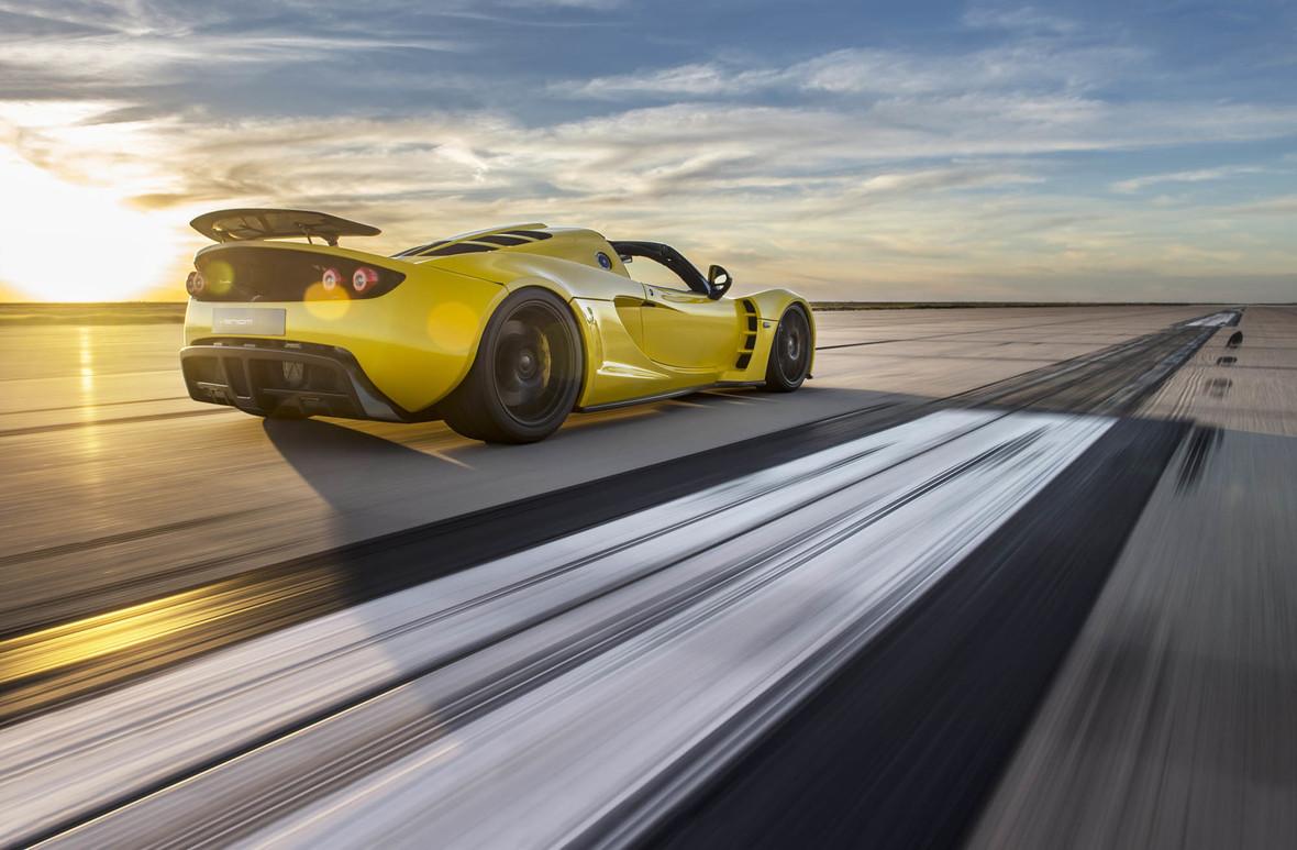 Venom GT Spyder – oficjalnie najszybszym kabrioletem na świecie