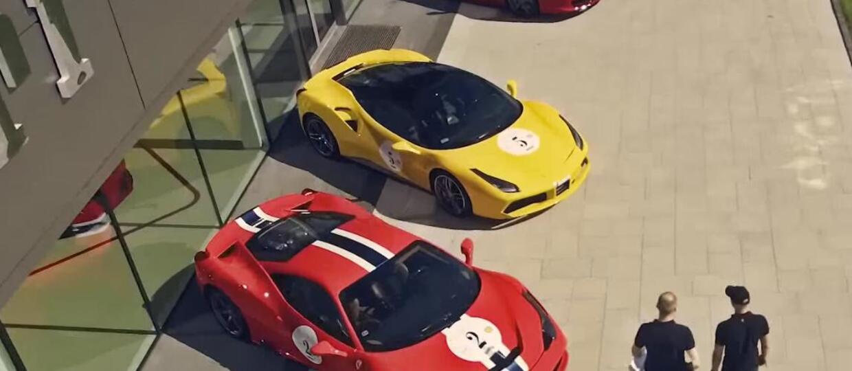 W Polskę rusza kawalkada Ferrari