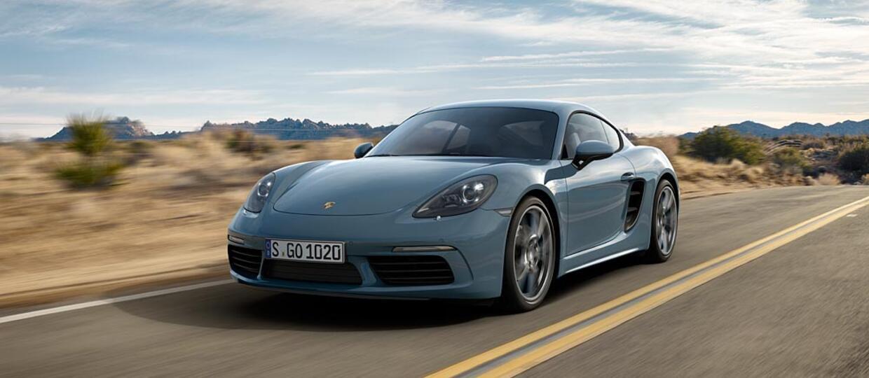 718 Cayman najtańszym Porsche na polskim rynku