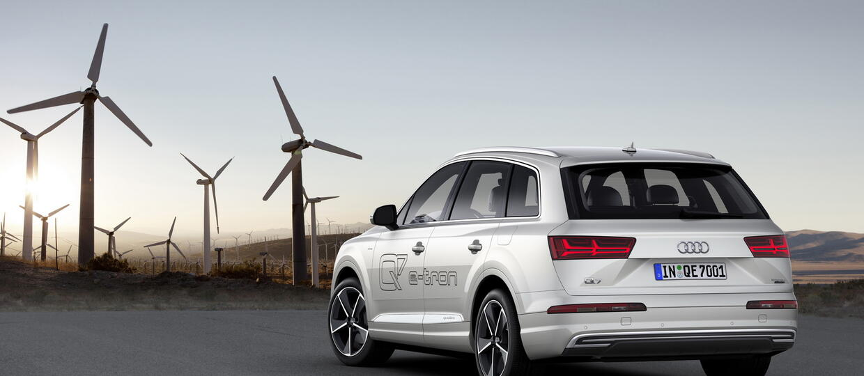 Audi Q7 e-tron – zużywa 1,7 l/100 km
