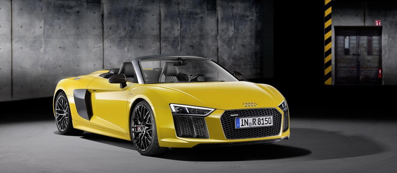 Audi R8 Spyder V10 waży tylko 1612 kg