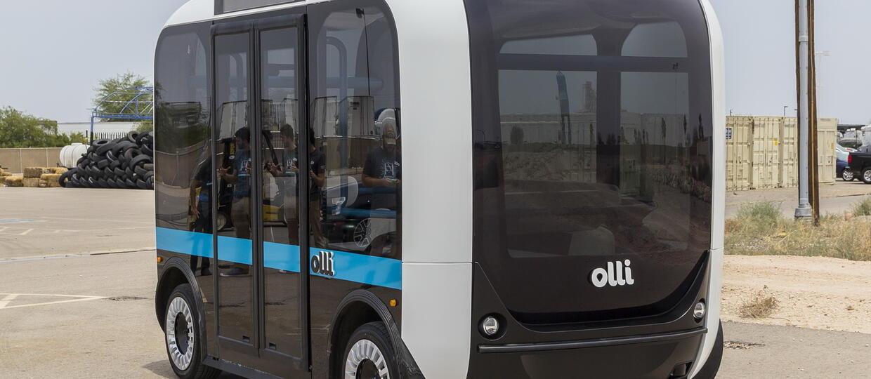 Autonomiczny minibus Olli