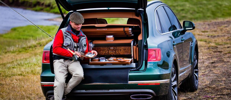 Bentley Bentayga, czyli auto dla… wędkarza