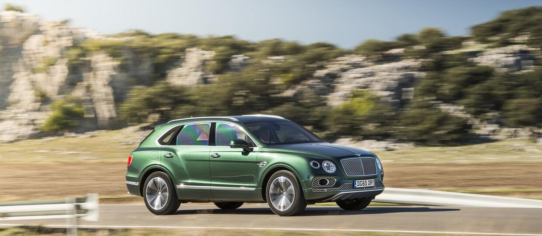 Bentley Bentayga – SUV przepisem na sukces