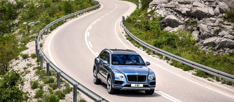 Bentley Bentayga z turbodieslem