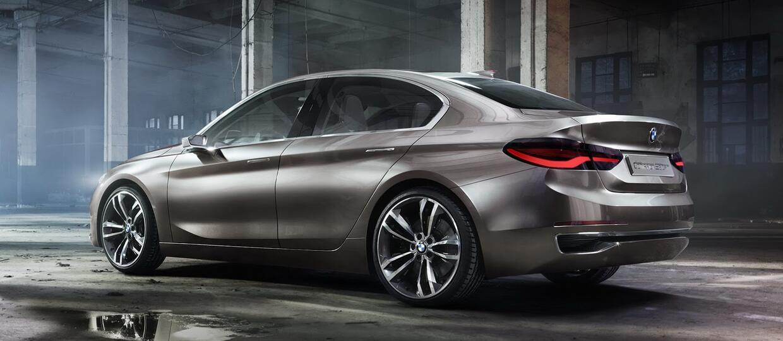 BMW Compact Sedan Concept – następca serii 1 i 2?