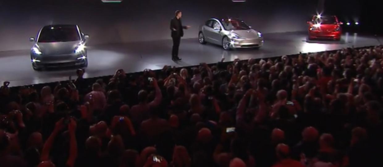 Elon Musk zaprezentował Teslę Model 3