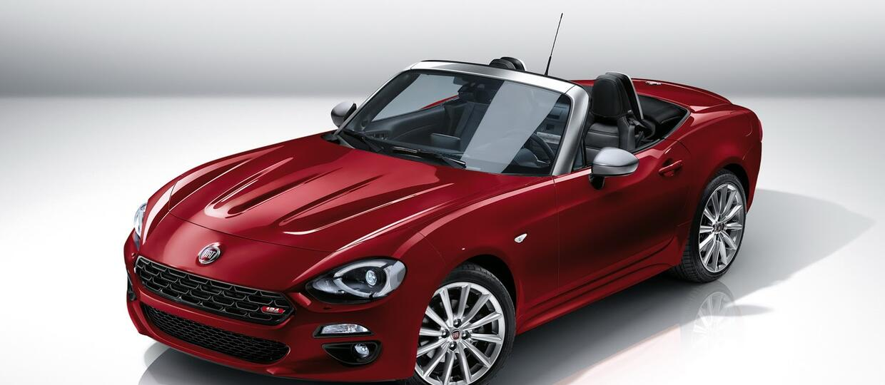 Fiat 124 Spider – bliźniaczy model Mazdy MX-5