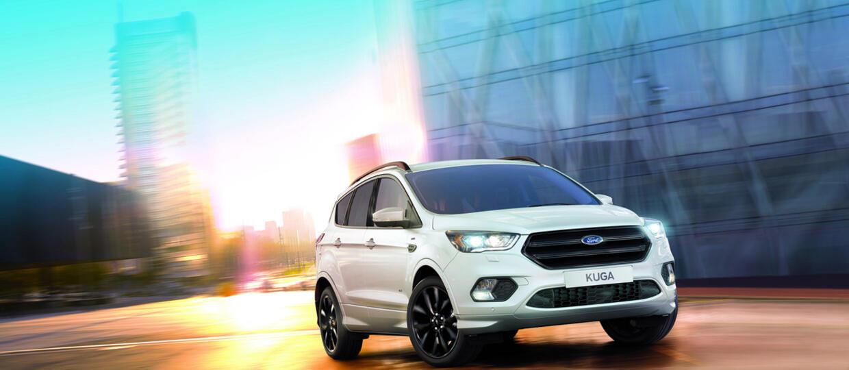 Ford Kuga w ST-Line – SUV na sportowo