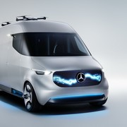 Futurystyczny Mercedes Vision Van Concept