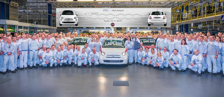 Ile Fiatów 500 wyprodukowano w Tychach w 8 lat?