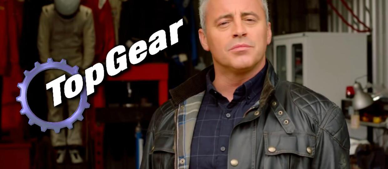 """Joey z serialu """"Przyjaciele"""" prowadzącym """"Top Gear"""""""