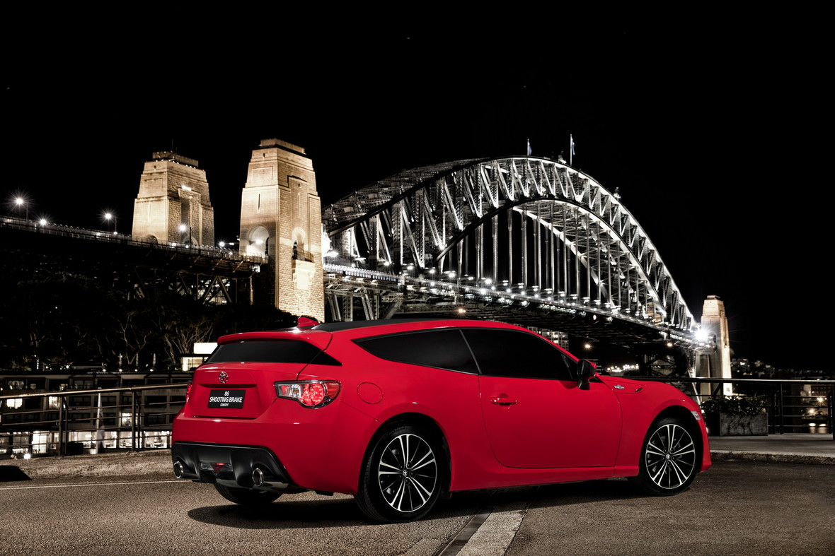 Koncepcyjna Toyota GT86 Shooting Brake