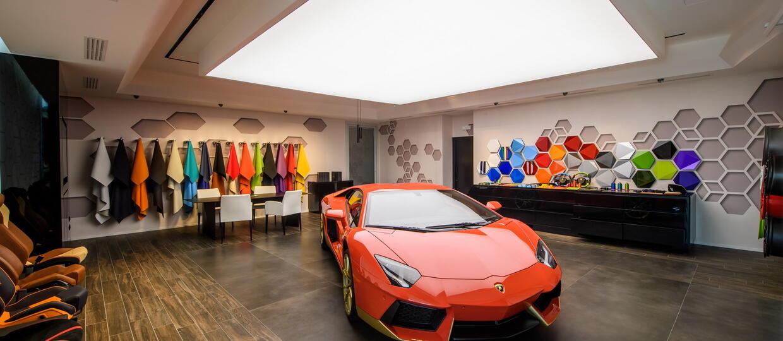 Lamborghini otworzyło studio indywidualizacji