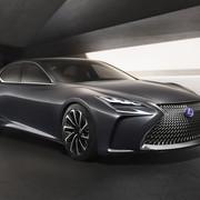 Lexus LF-FC zasilany ogniwami paliwowymi