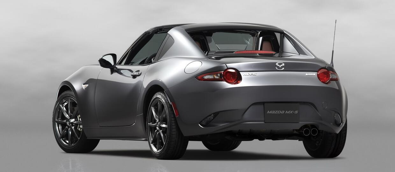 Mazda MX-5 RF – odmiana z twardym dachem