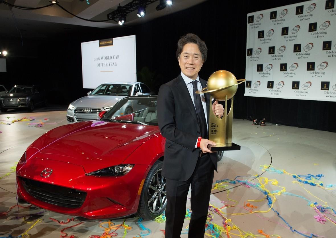 Mazda MX-5 wygrała World Car of the Year 2016