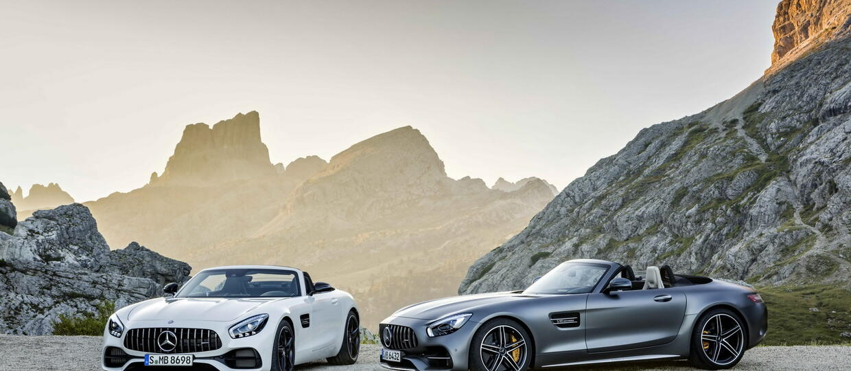 "Mercedes-AMG GT w wersji ""topless"""