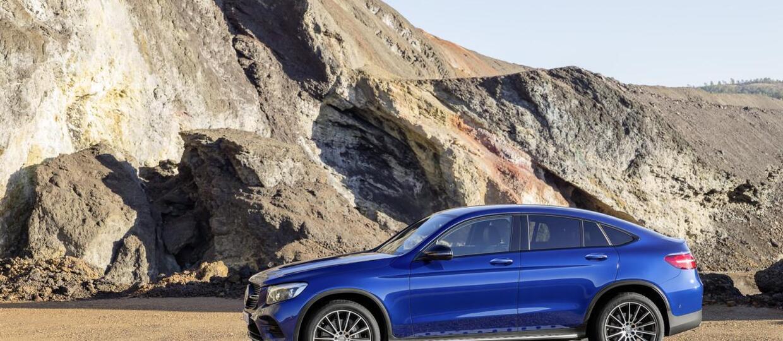 Mercedes GLC Coupe – nadjeżdża konkurent BMW X4