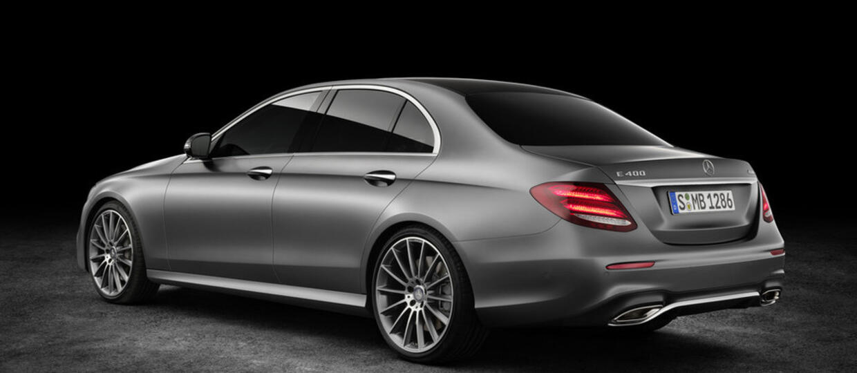 Mercedes klasy E W213 w pełnej krasie