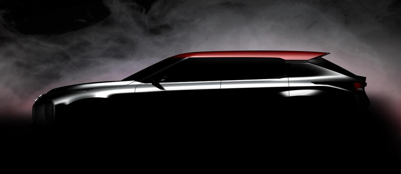 Mitsubishi zwiastuje debiut Ground Tourer Concept SUV