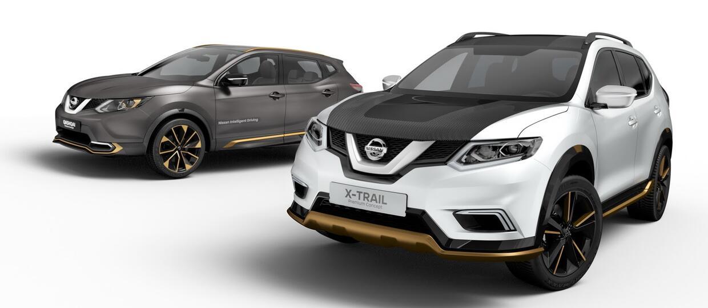 Nissan Qashqai i X-Trial w odmianach premium