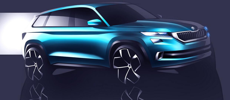 Nowy SUV Skody – VisionS