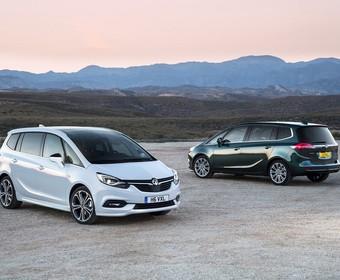 Opel Zafira przeszedł gruntowny facelifting