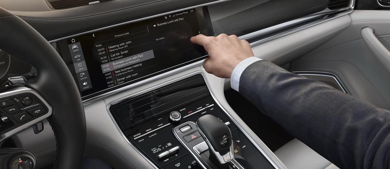 Porsche Panamera II z nowym systemem multimedialnym