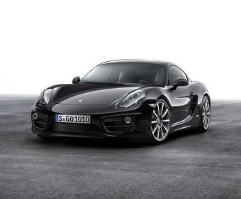 Porsche zaprezentowało Caymana w wersji Black Edition
