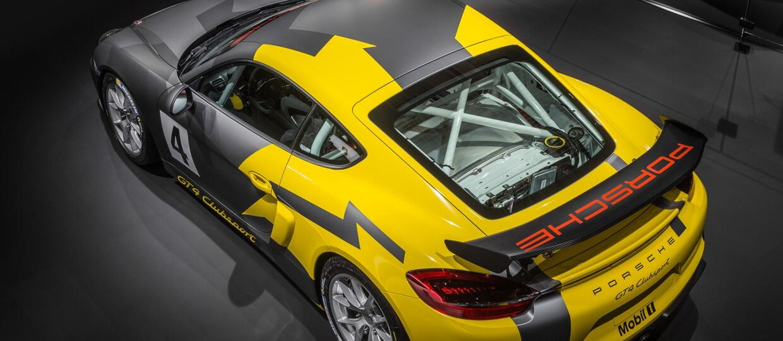 Premiera torowego Porsche Cayman GT4 Clusport