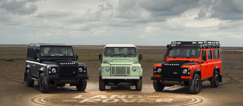 Produkcja Land Rovera Defendera zakończona po 68 latach