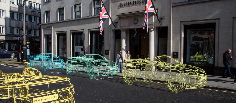 Range Rover Evoque Cabriolet – oryginalna promocja