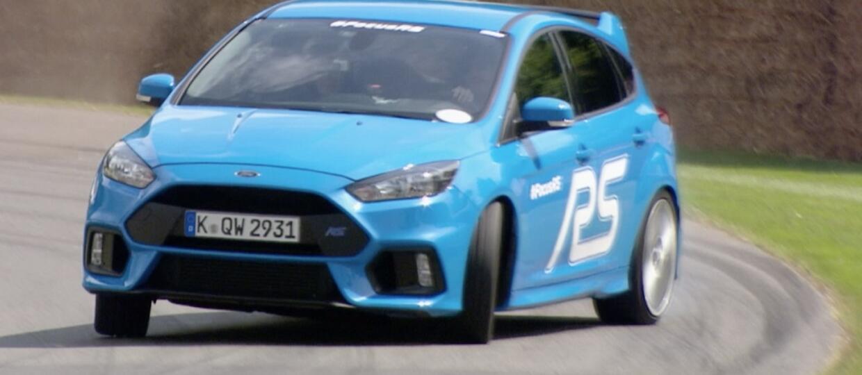 Rząd walczy z trybem Drift Mode w Fordzie Focusie RS